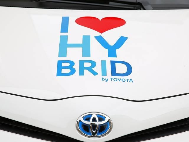 hybridbil toyota
