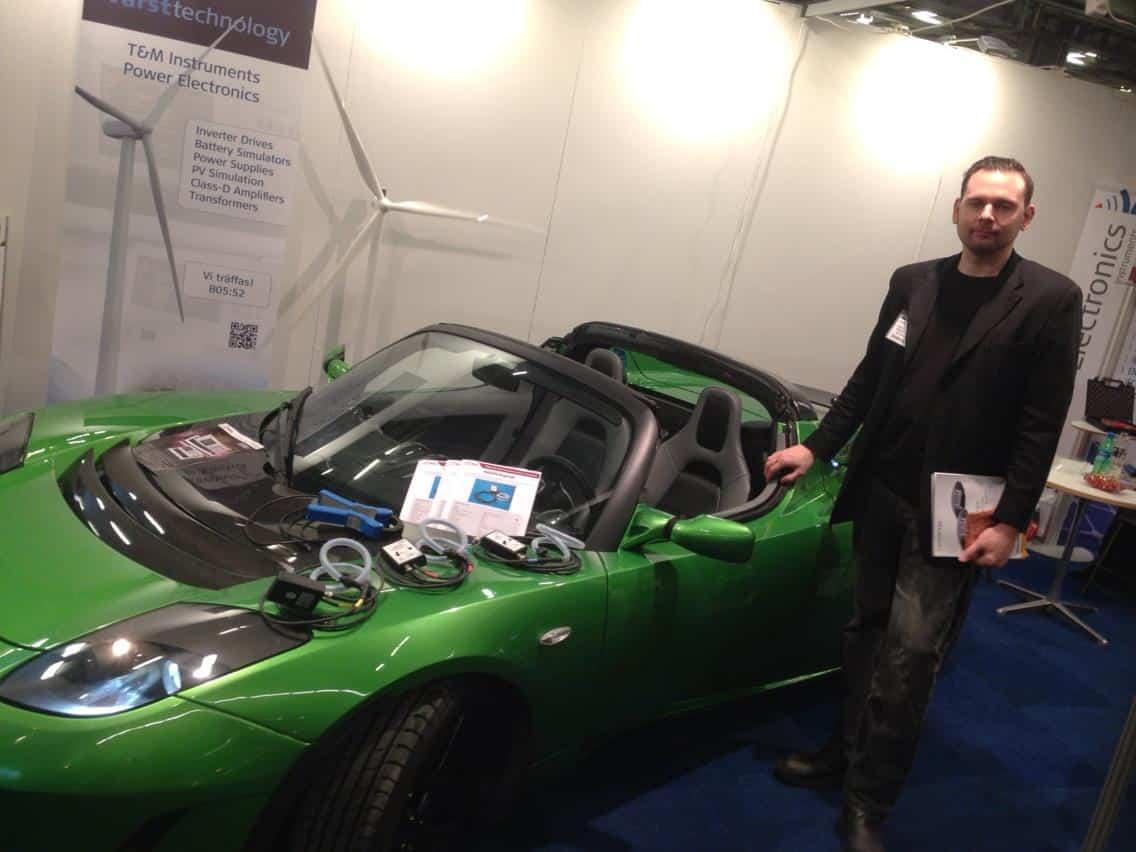 Tesla Roadster elbil